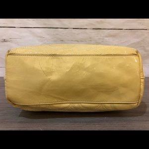 Coach Bags - Coach Signature Stitched Yellow Patent Leather